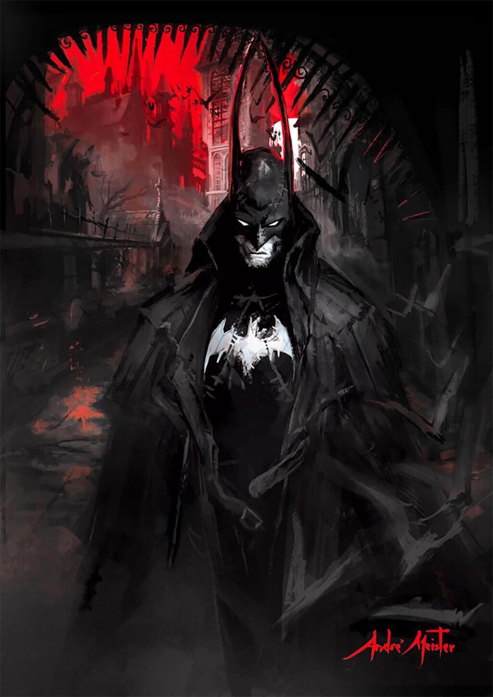 Batman Fan Art by André Meister