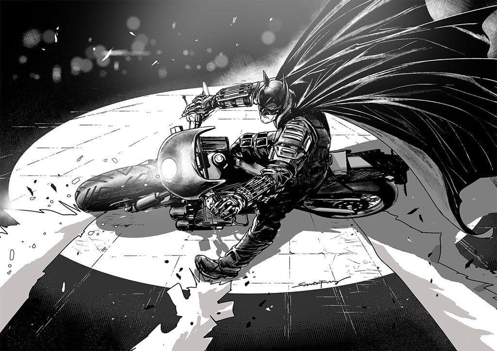 Batman Fan Art by SANTA FUNG