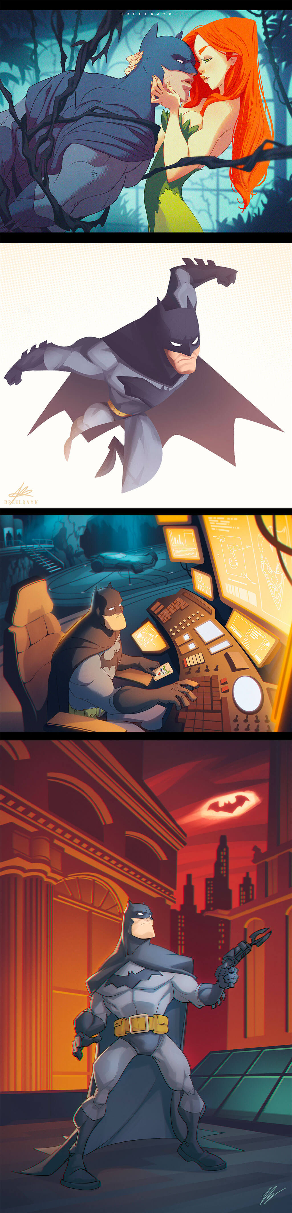 "Batman Fan Art by Valerio ""Dreelrayk"" Buonfantino"
