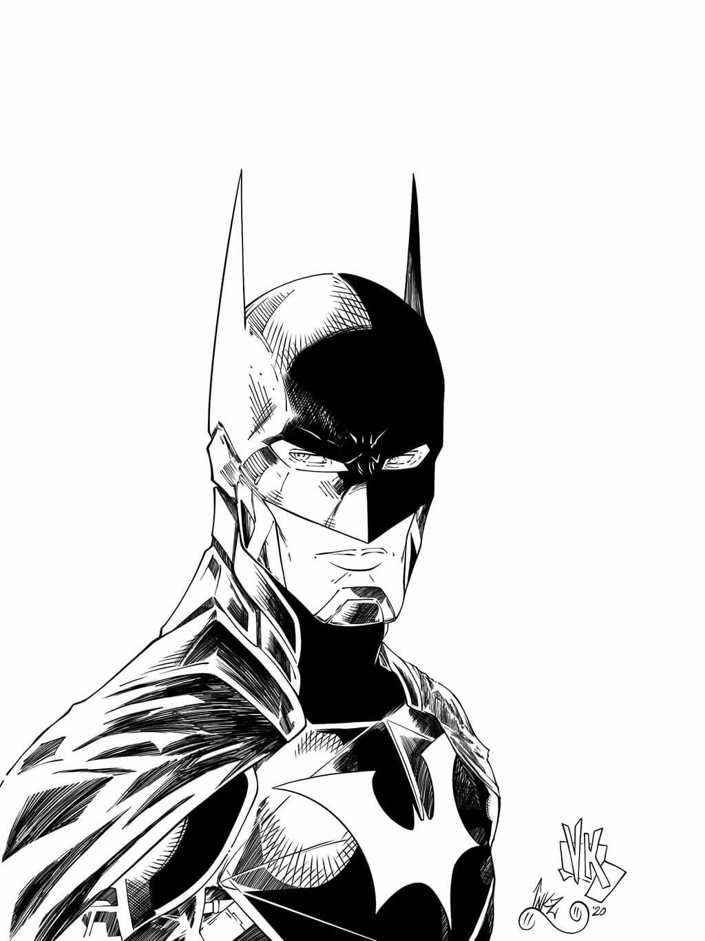 Batman Fan Art by INKZ