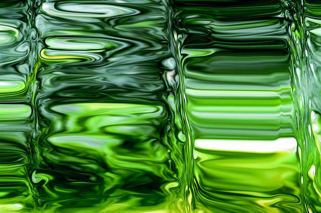 Green Glass — Full Screen Abstract Background