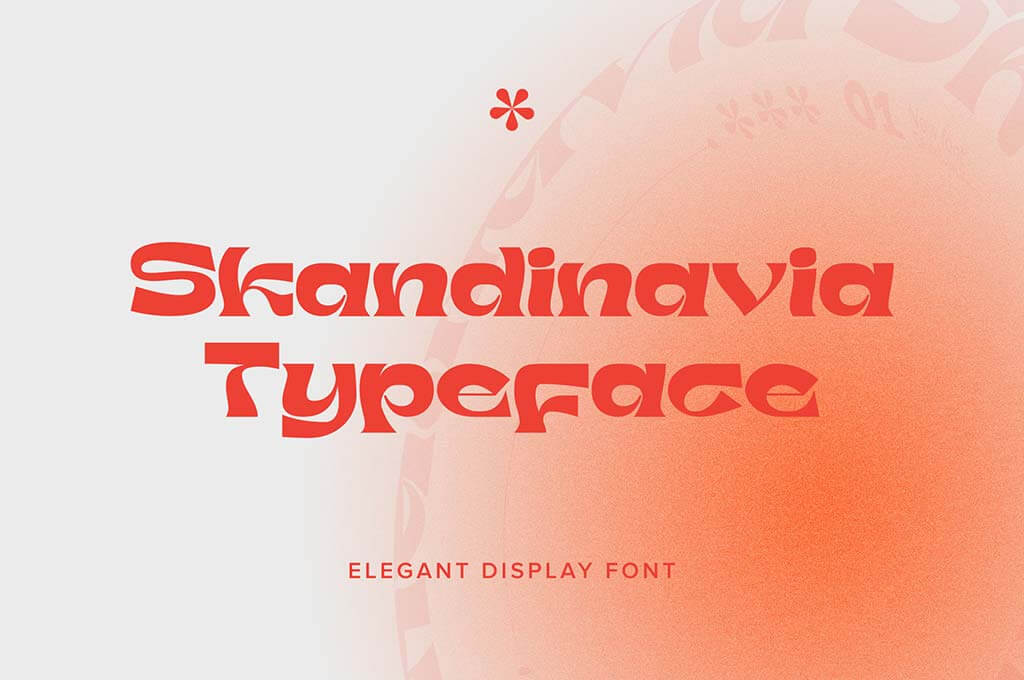 Skandinavia Display Font