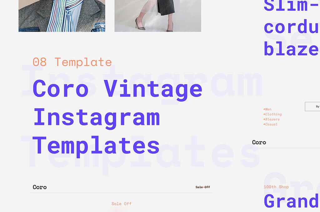 Сoro Instagram Templates