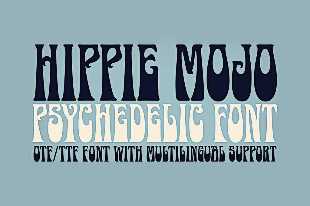 Hippie Mojo Font