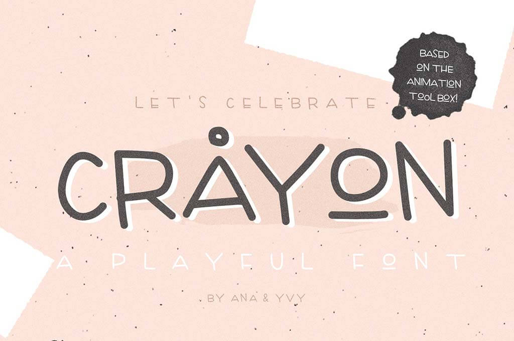 Crayon - Handwritten Playful Font