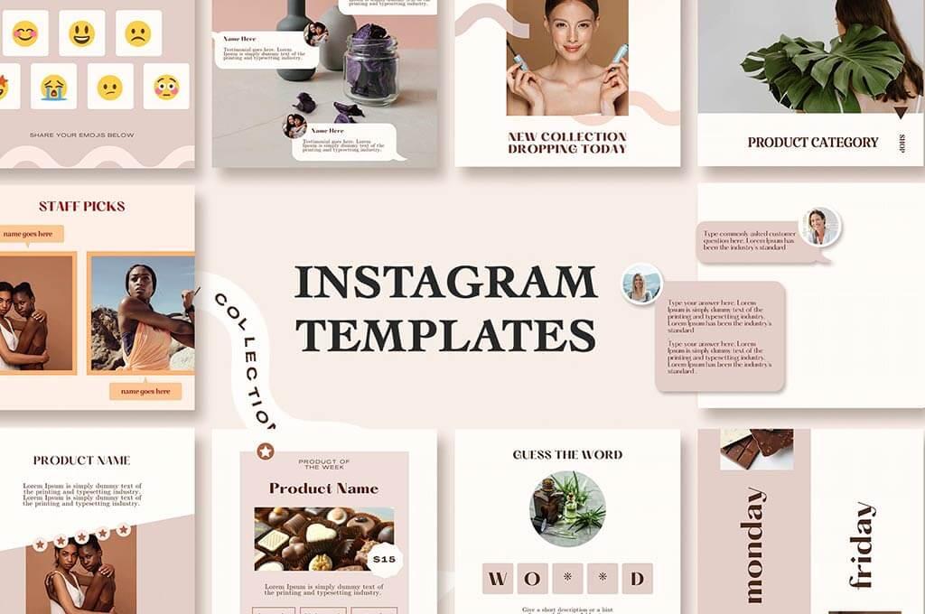 Feminine Instagram Templates