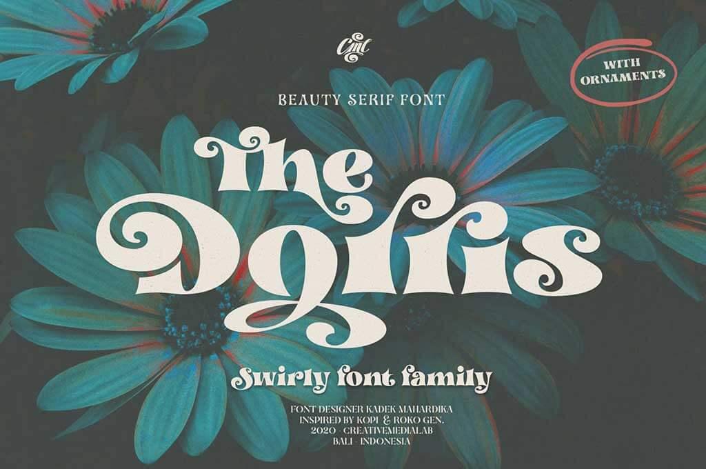 Dorris — Swirly Font Family