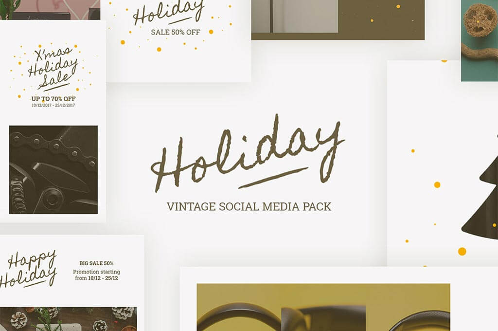 Holiday Templates for Instagram & Facebook