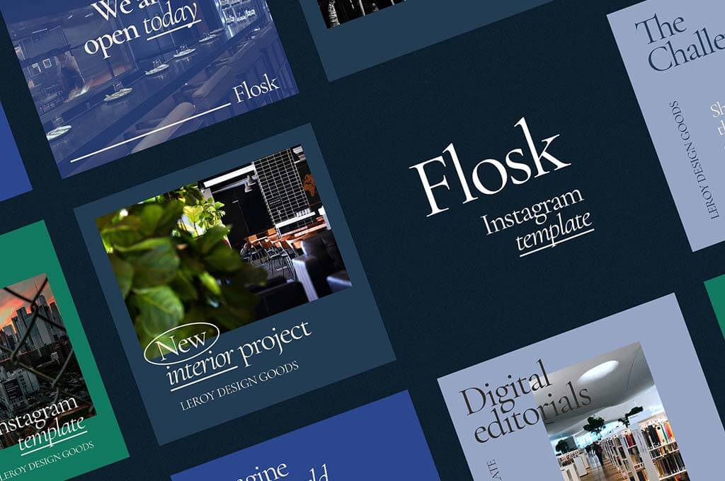 Flosk Instagram Templates