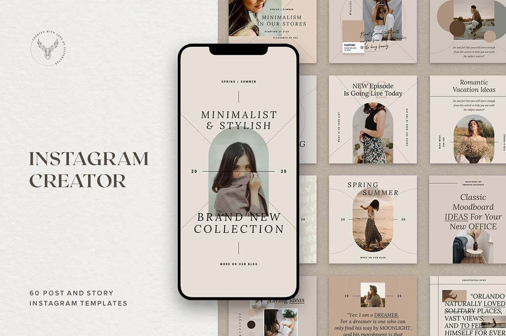 Post & Story Instagram Templates