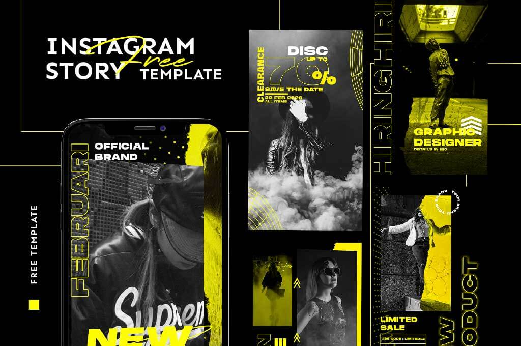 Free Editable Instagram Story Template