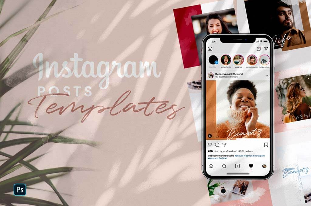 Free Instagram Fashion Templates