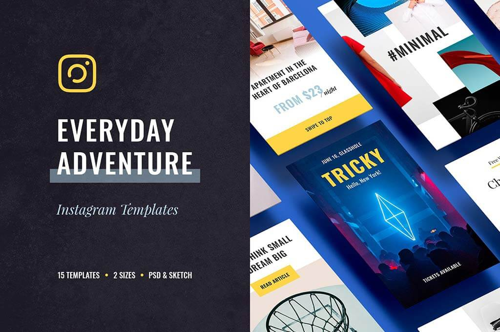 Everyday Instagram Templates