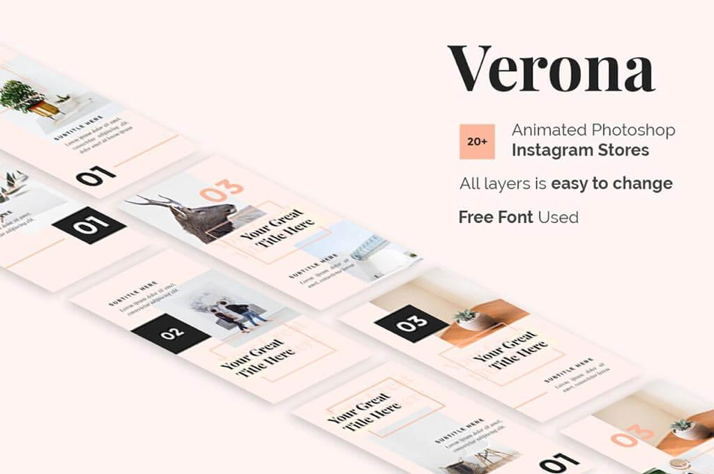 Verona - Free Instagram Story Template