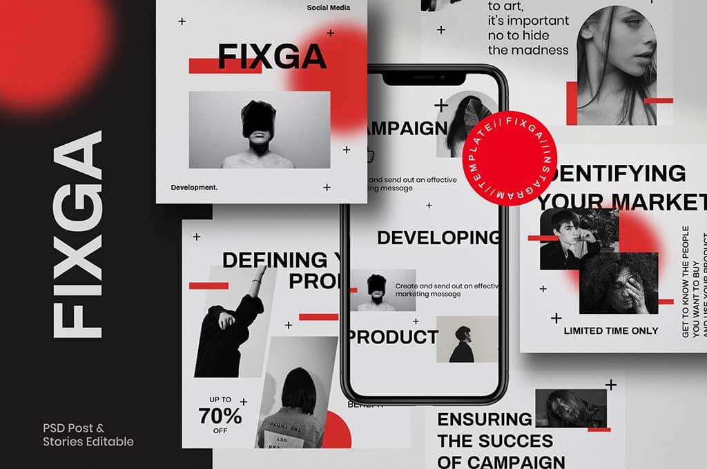 FIXGA - Social Media Brand
