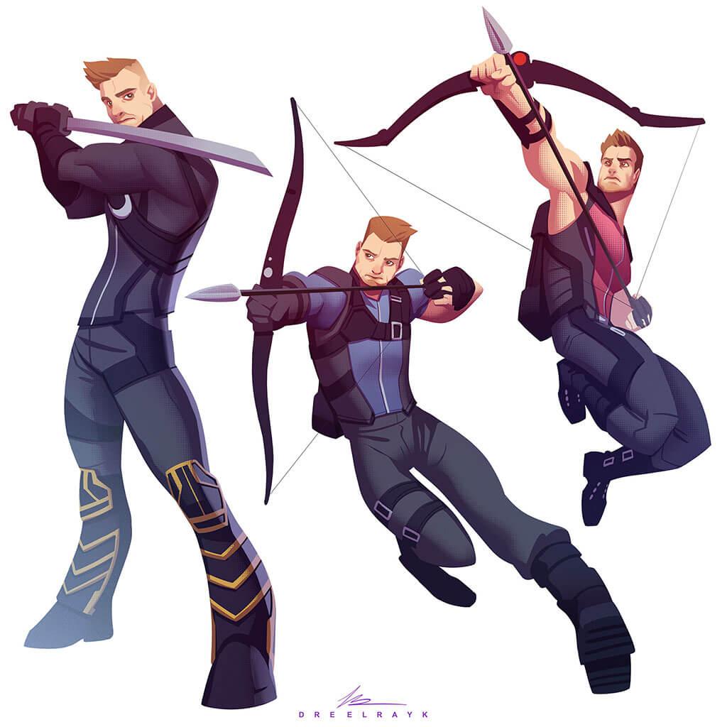 "Avengers Fan Art by Valerio ""Dreelrayk"" Buonfantino"