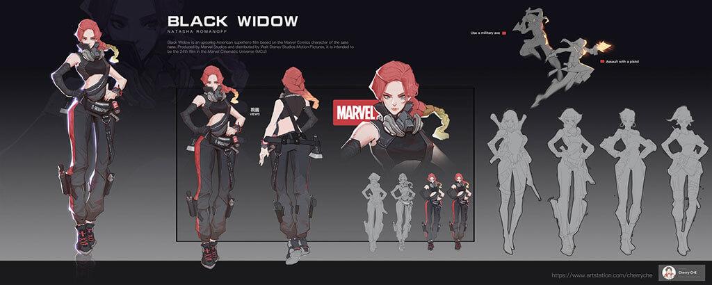 Avengers Fan Art by Cherry CHE