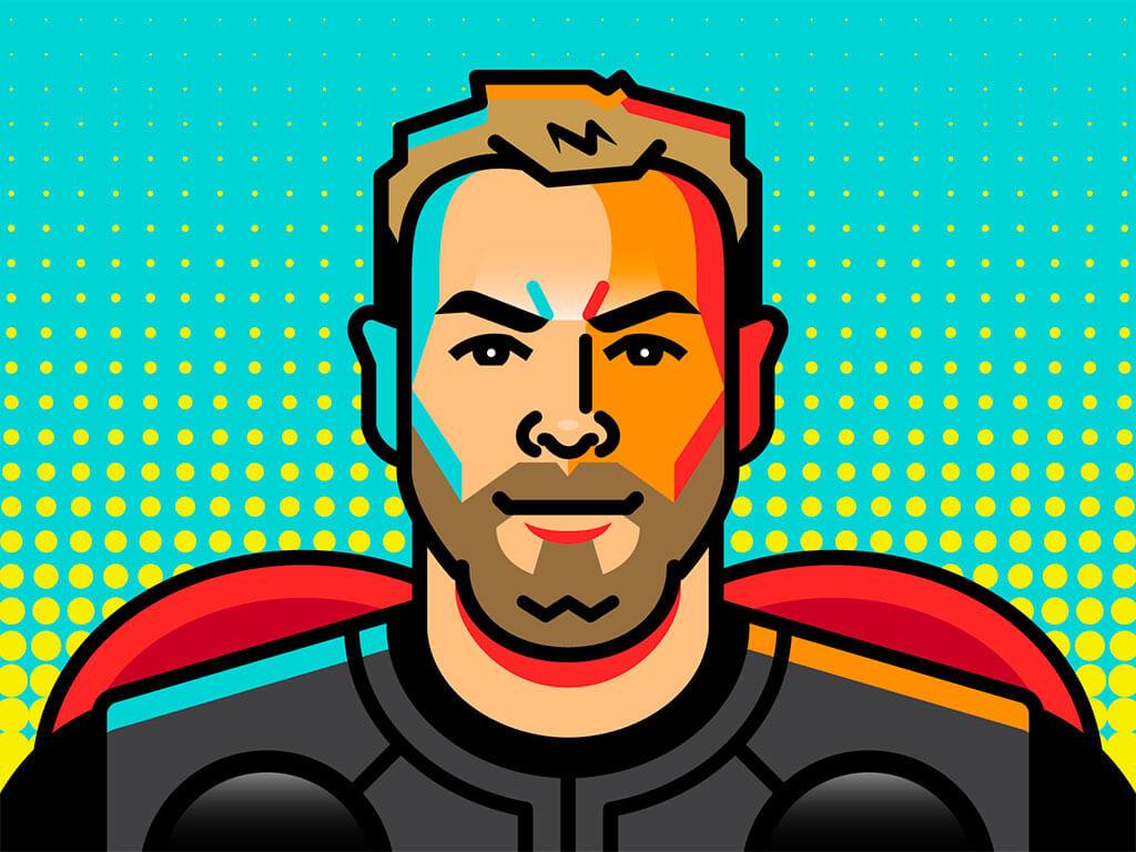 Avengers Fan Art by Elias Stein