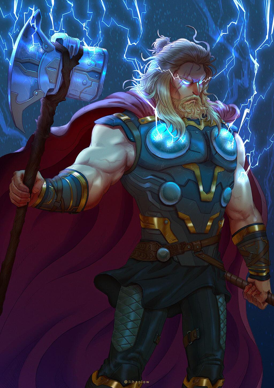 Avengers Fan Art by Li Hao