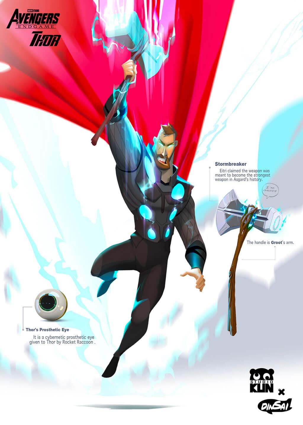 Avengers Fan Art by Kun Vic