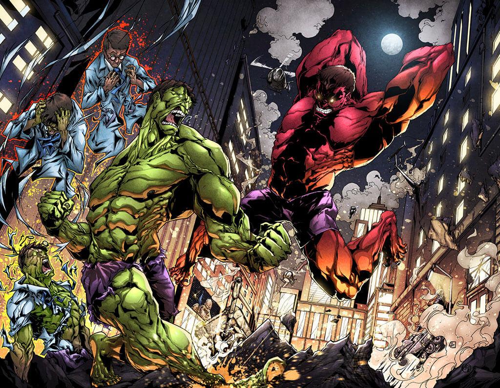 Avengers Fan Art by Tarik Holmes
