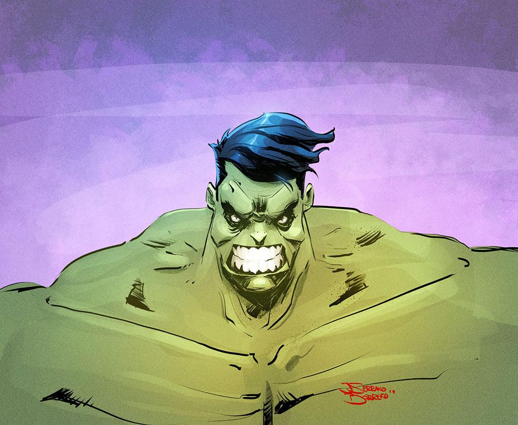Avengers Fan Art by Jorge Serrano Borrero