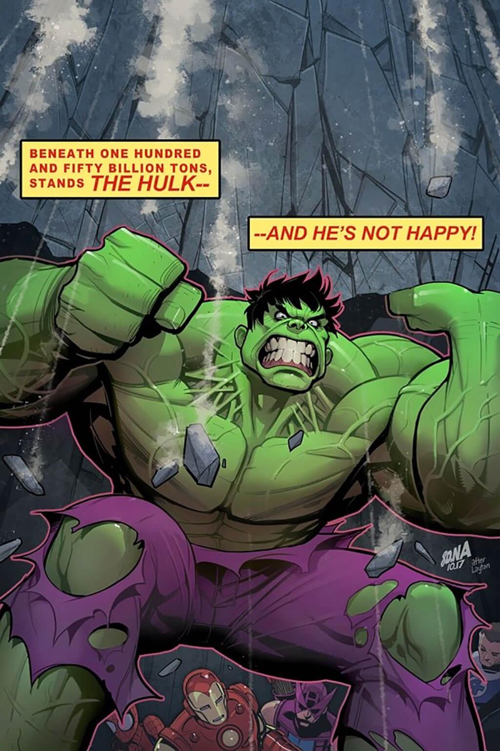 Avengers Fan Art by David Nakayama