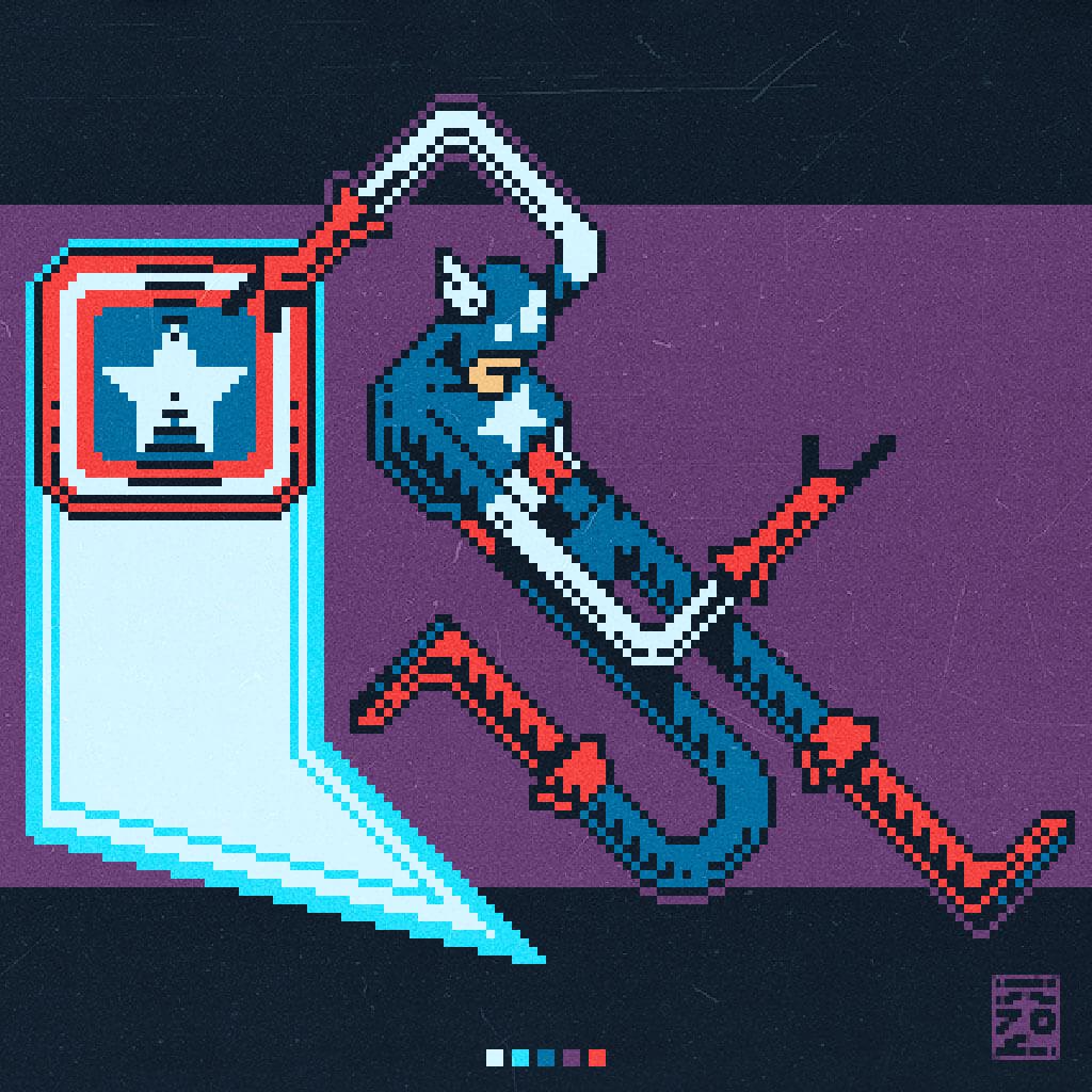 Avengers Fan Art by Roman Gonzo