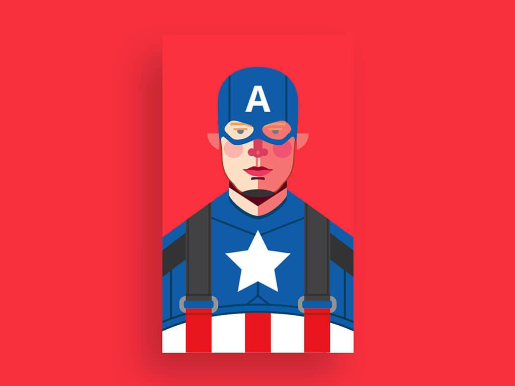 Avengers Fan Art by Daniel Ferreira