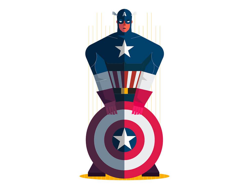 Avengers Fan Art by Neil V Fernando