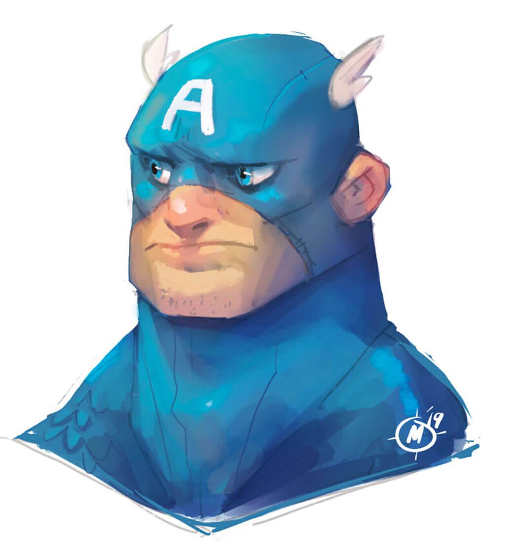 Avengers Fan Art by Miles Dulay