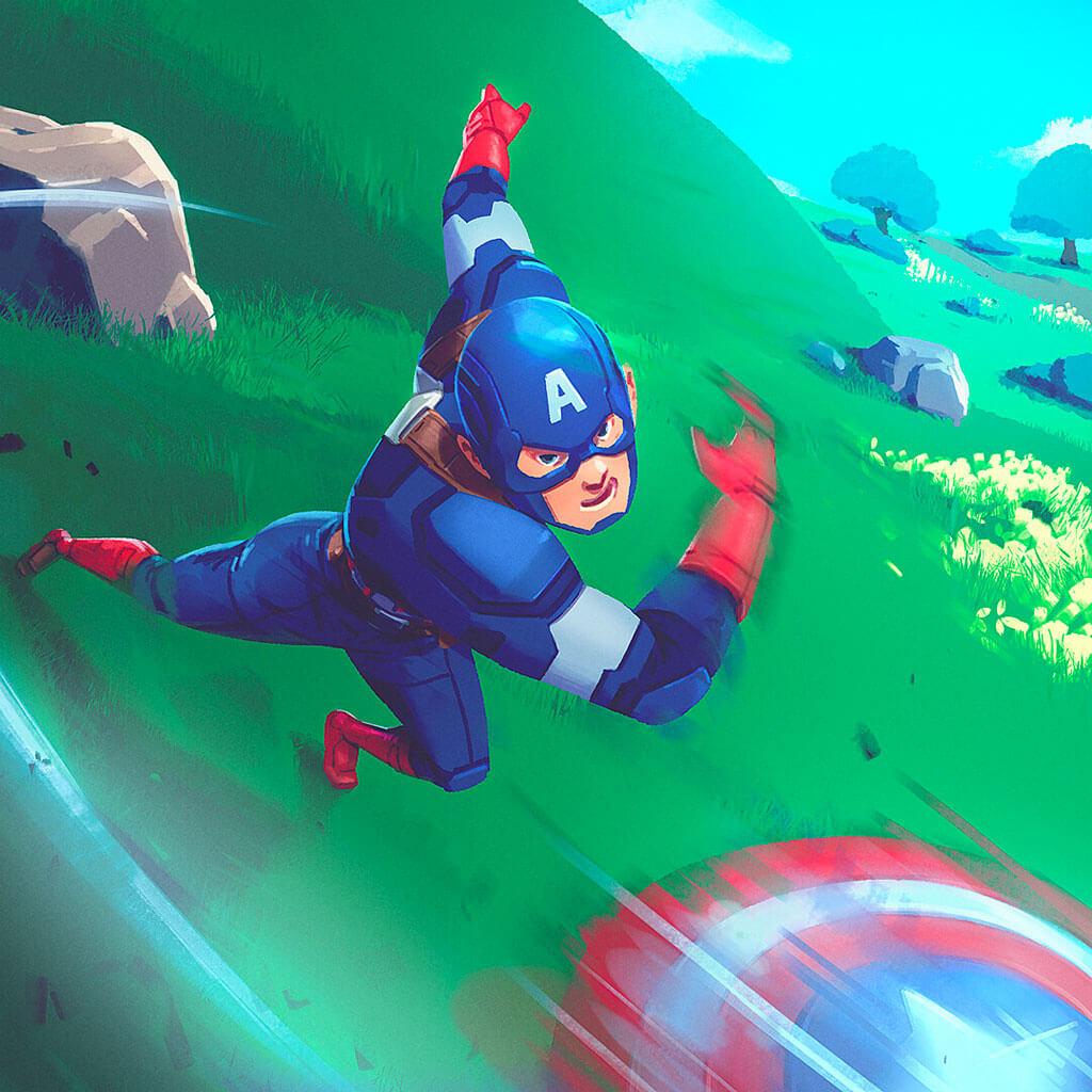 Avengers Fan Art by Gilbert Han
