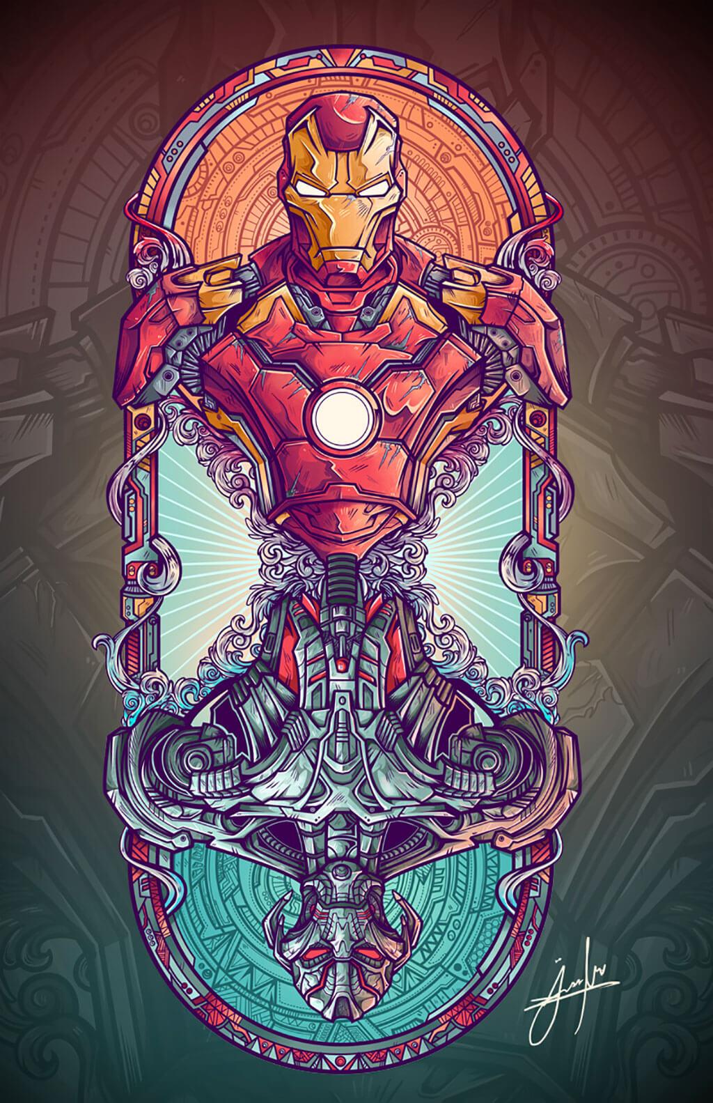 Avengers Fan Art by jml2art orozco