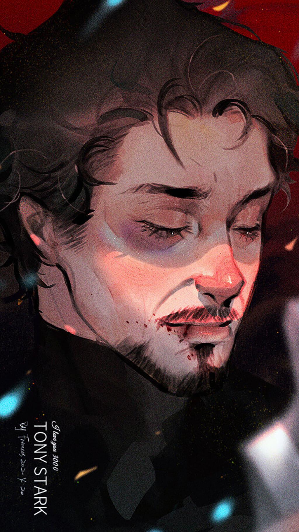 Avengers Fan Art by Frances Wen