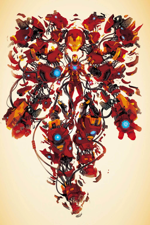 Avengers Fan Art by Justin Currie