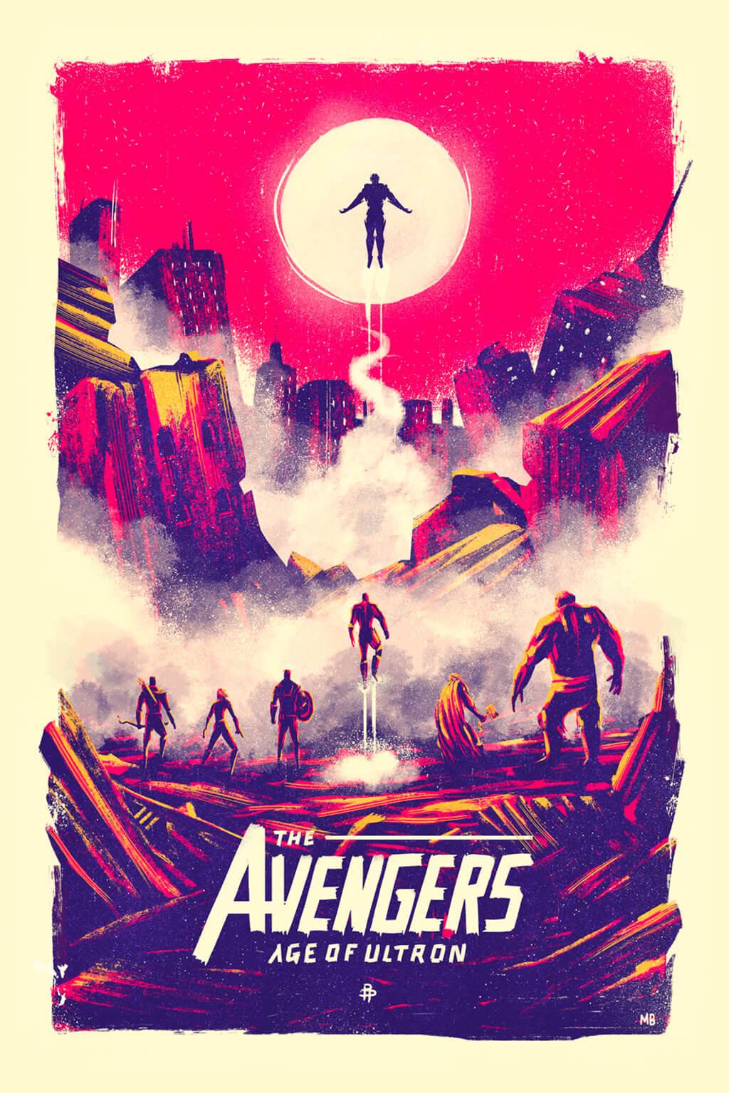 Avengers Fan Art by Marie Bergeron