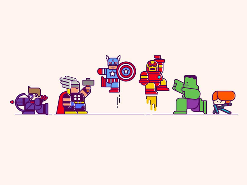 Avengers Fan Art by ZeBang
