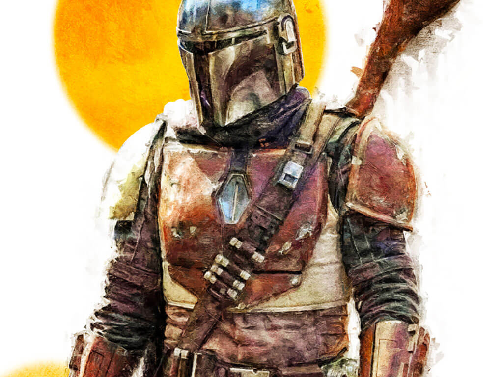Mandalorian Fan Art by Matthew Gallagher