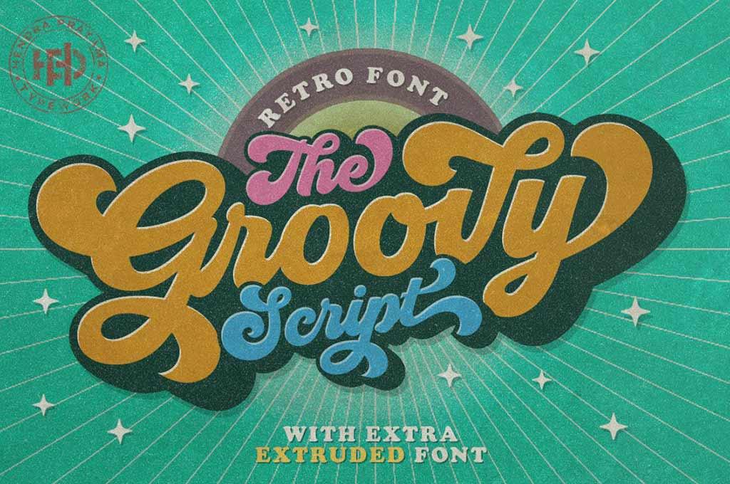 Groovy — Retro Font