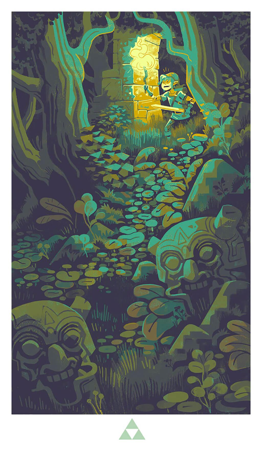 Zelda Fan Art by Tim Mack