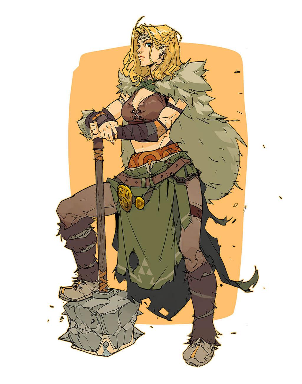 Zelda Fan Art by Hicham Habchi
