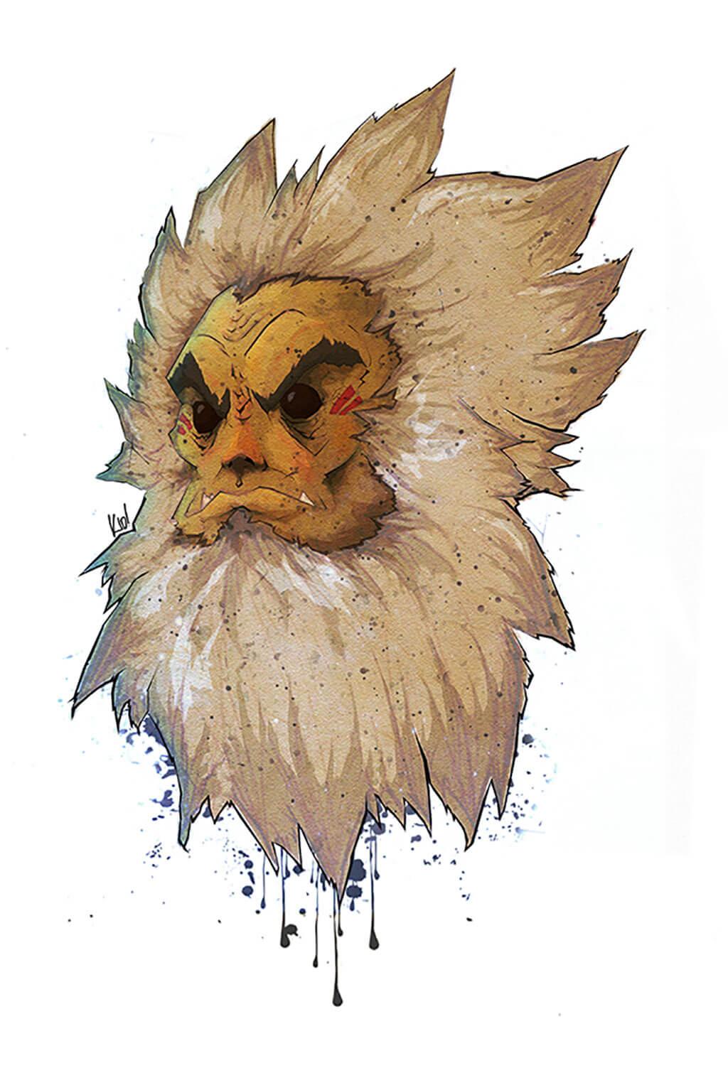 Zelda Fan Art by RC Johnson