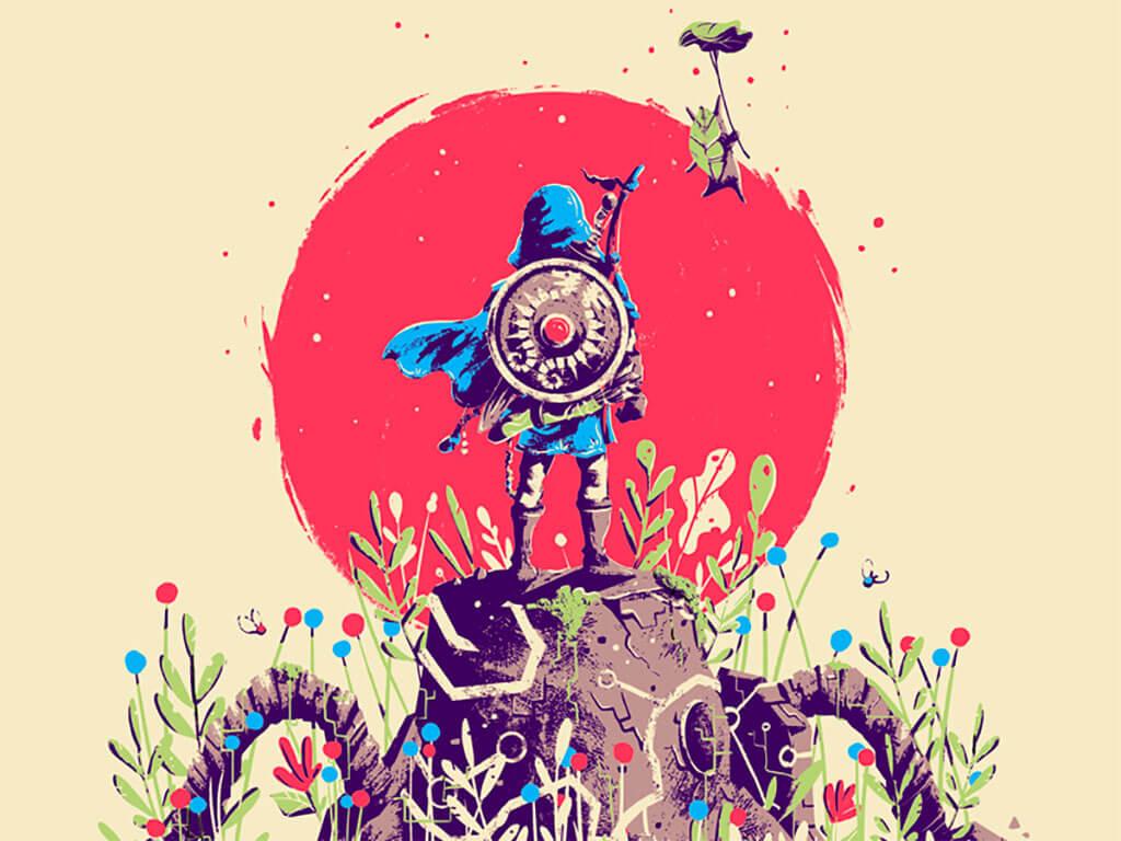 Zelda Fan Art by Marie Bergeron