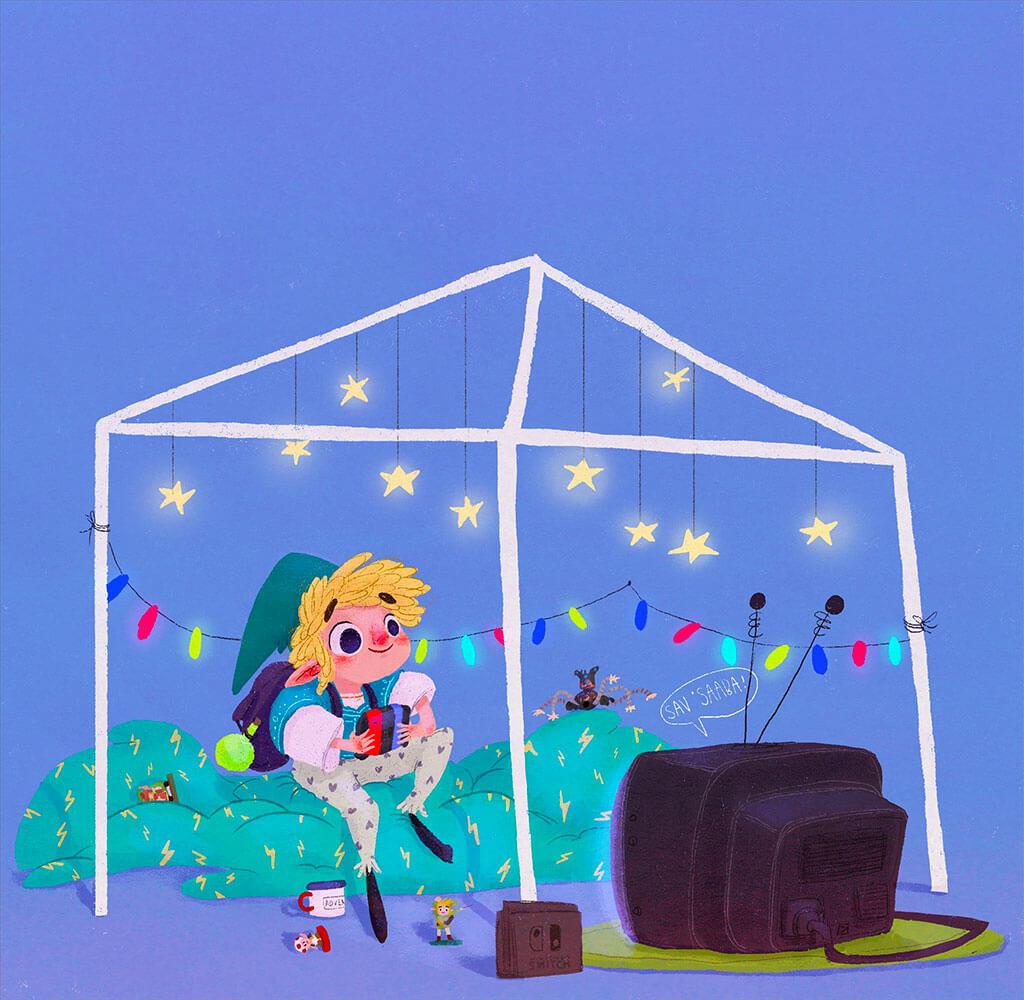Zelda Fan Art by beatrice blue