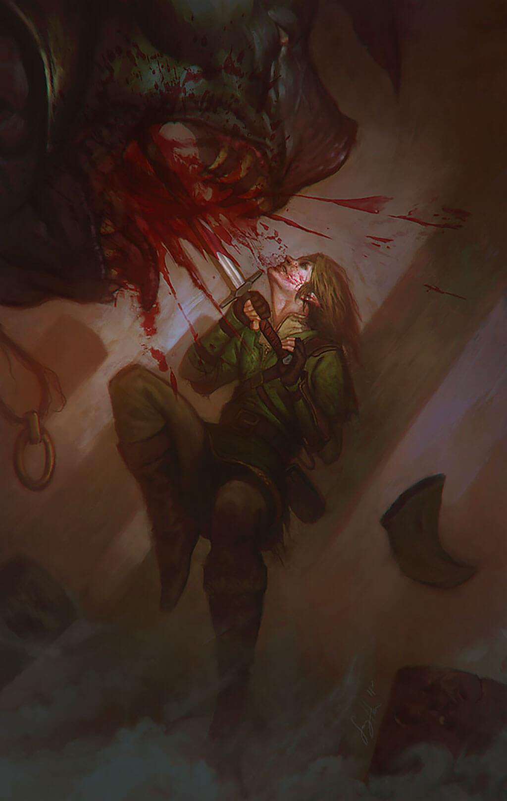 Zelda Fan Art by Sang Han