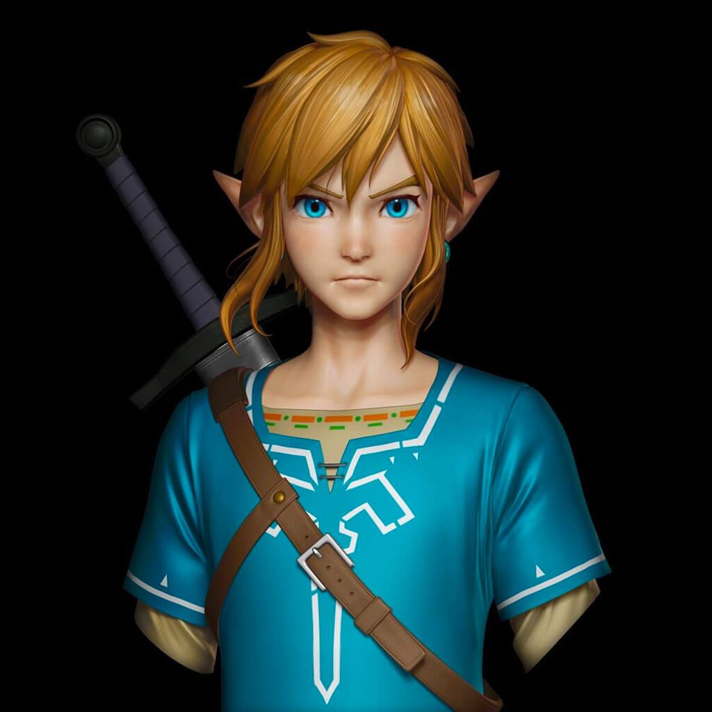 Zelda Fan Art by Akinori Takaki