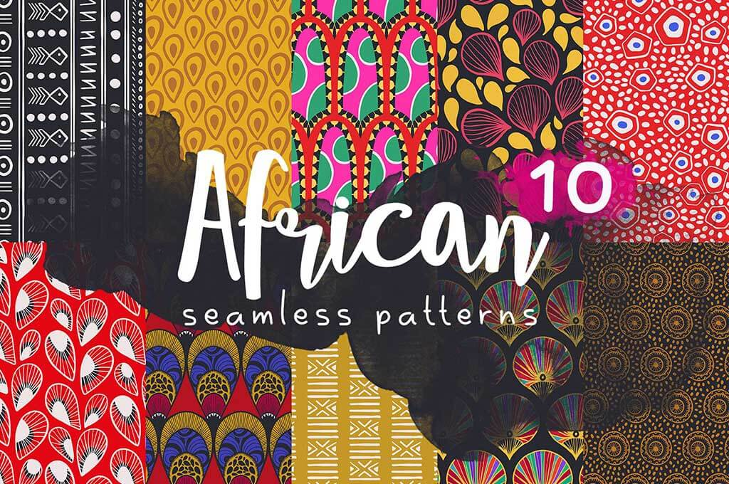 African Seamless Patterns Pack
