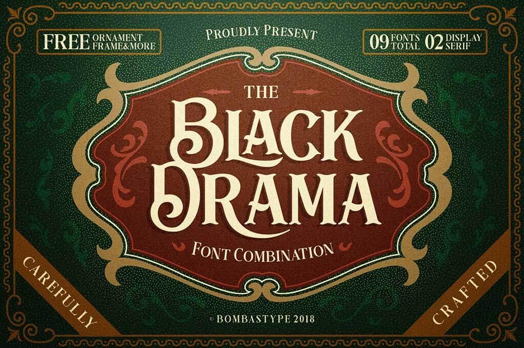 Black Drama Duo + Extras