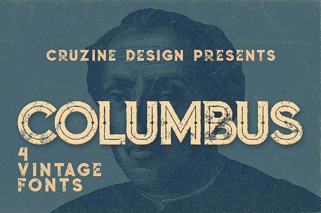 Columbus Typeface