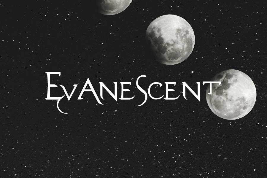 Evanescent Metal Font